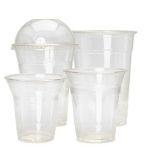 PLA Biodegradable Smoothie Cups & Lids